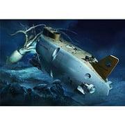 """Hasegawa 1/72 Sp329 Manned Research Submersible Shinkai 6500""""Detail-up Version"""" W / Deep Sea Organi"""