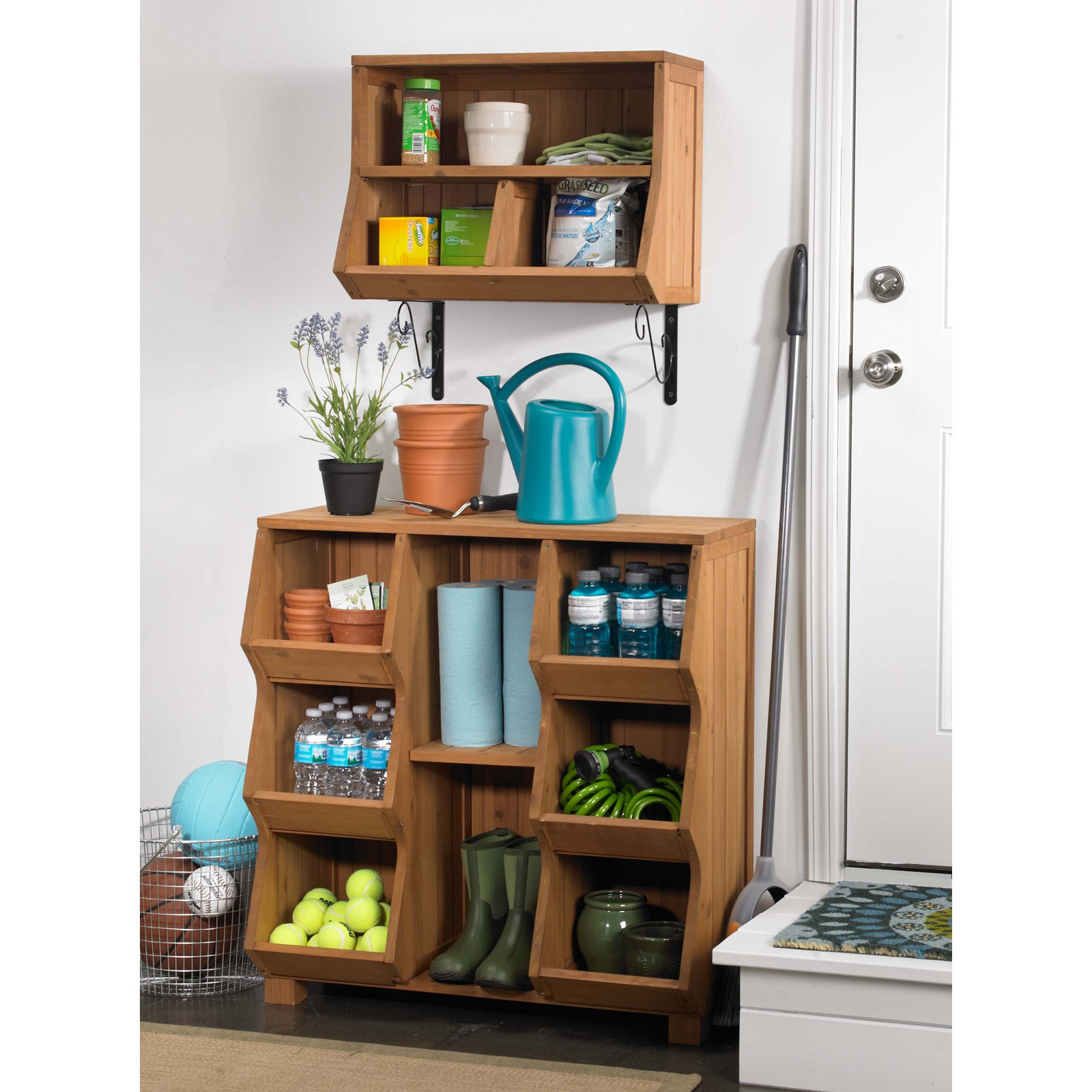 Merry Products Northbeam Wood Storage Cubby