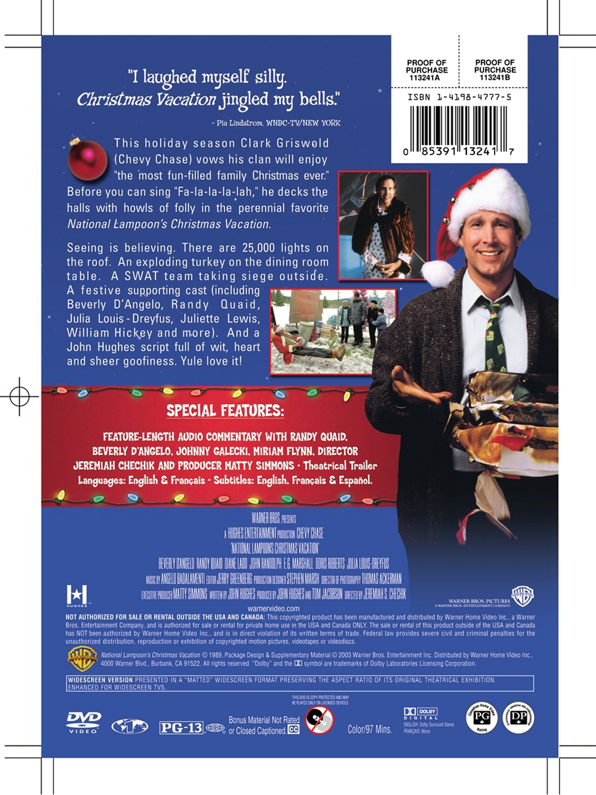 National Lampoon's Christmas Vacation (Special Edition) (DVD) - Walmart.com