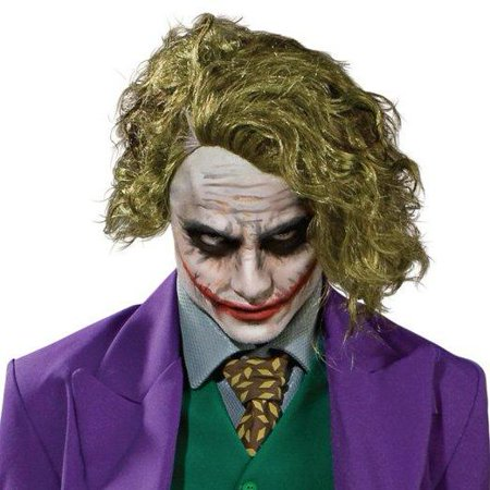 Batman Dark Knight The Joker Wig Adult Halloween Costume Accessory