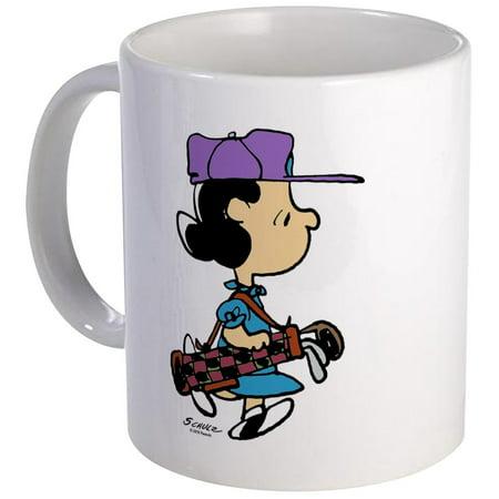 CafePress - Lucy Golfer Mug - Unique Coffee Mug, Coffee Cup CafePress