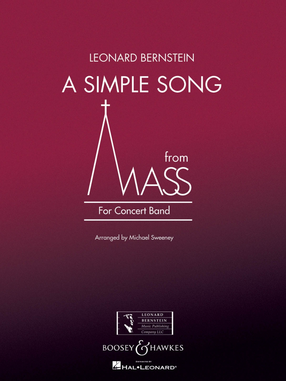 Boosey and Hawkes A Simple Song (from Mass) Concert Band Level 3 Composed by Stephen... by