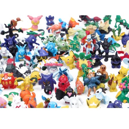144PCS a Set Pokemon Toy Mini Action Figures Children's Doll Go Monster Toys Gift - image 3 of 6