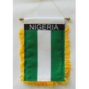 Nigeria - Window Hanging Flag