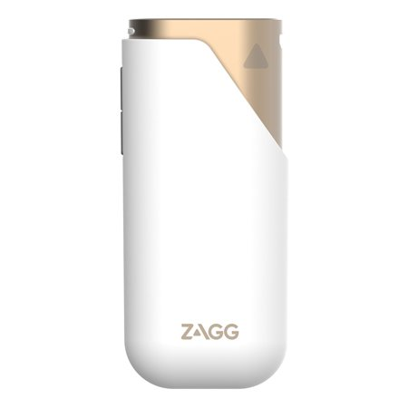 Power Amp 3 Universal Battery Charger for Smartphones (3,000mAh)- Gold, 3000mAh of portable power gives most phones a full charge so you can stay connected to your world.., By ZAGG,USA ()
