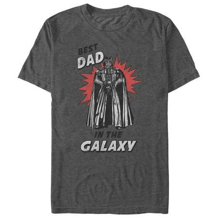 Star Wars Men's Best Dad in the Galaxy T-Shirt