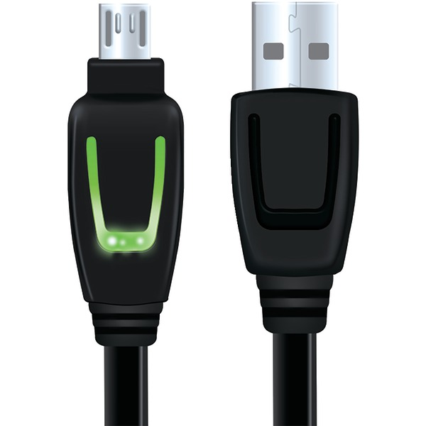 DREAMGEAR DGXB1-6602 Xbox One(TM) LED Charging Cable, 10ft