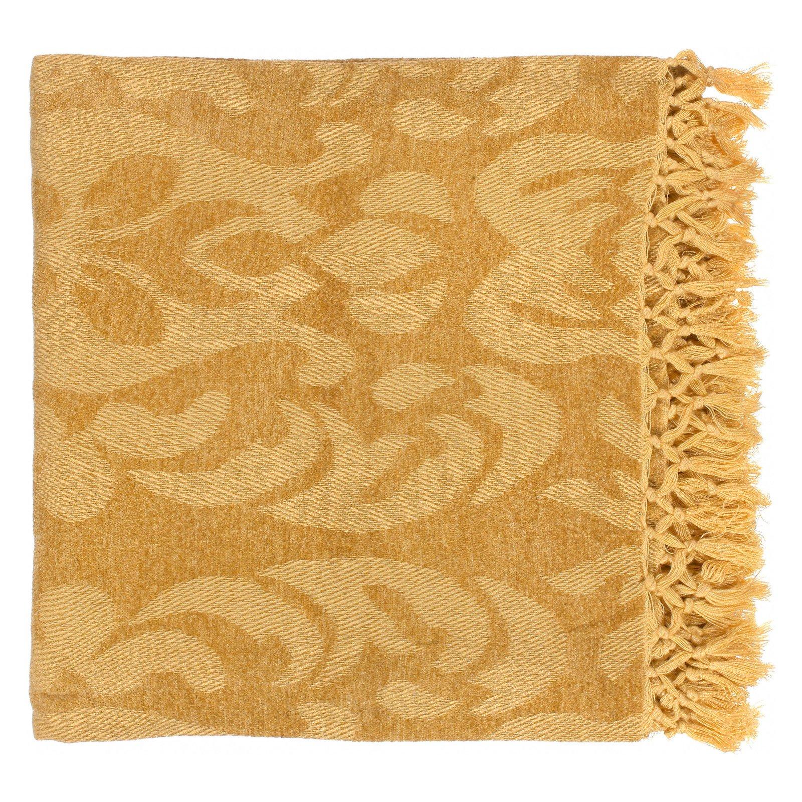 Surya Tristen Viscose Throw Blanket