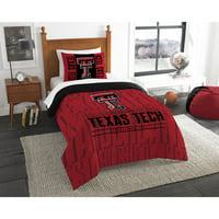 "NCAA Texas Tech Red Raiders ""Modern Take"" Bedding Comforter Set"
