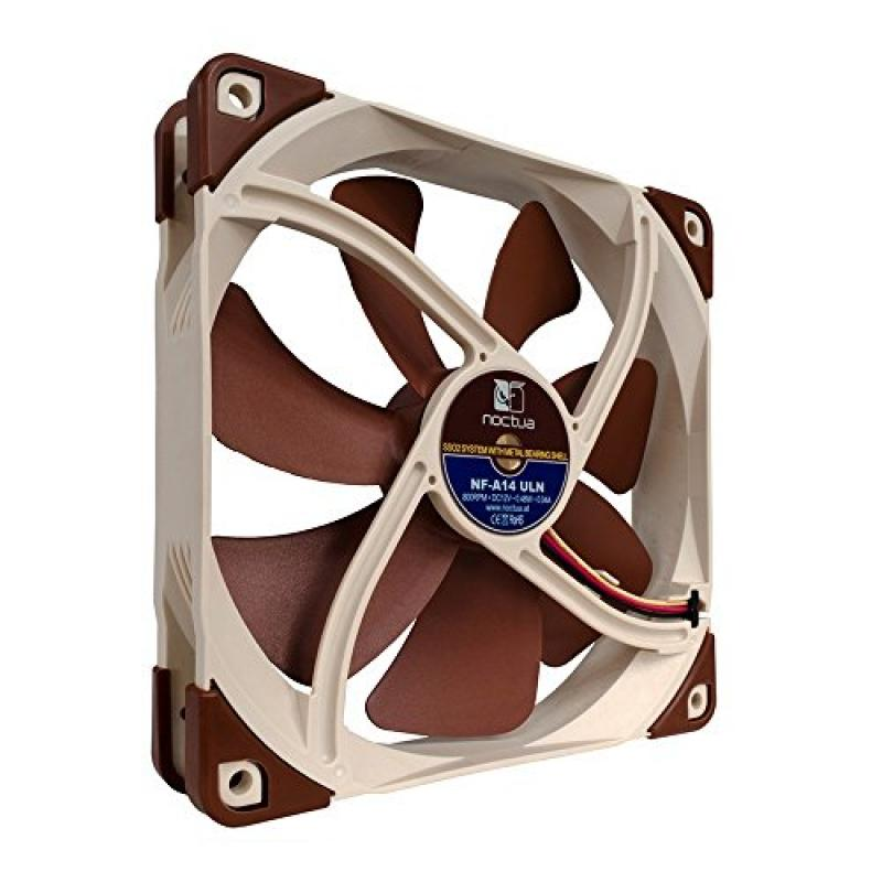 NOCTUA 140mm Premium Quiet Quality Case Cooling Fan NF-A1...