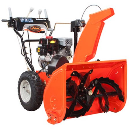 Ariens Deluxe 28  2 Stage Electric Start Gas Snow Blower With Auto Turn Steering