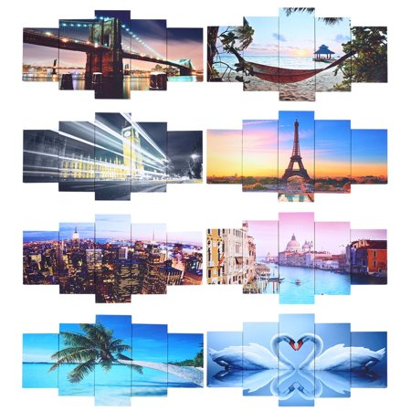 5 panel canvas art ing picture print framed world map scenery 5 panel canvas art ing picture print framed world map scenery realism walmart gumiabroncs Image collections