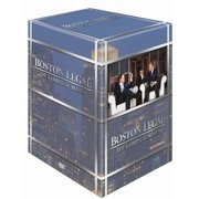 Boston Legal (Complete Series) - 27-DVD Box Set ( Boston Legal - Seasons 1-5 ) [ NON-USA FORMAT, PAL, Reg.2 Import - Sweden ]