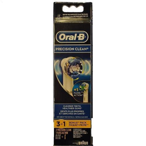 Oral-B Braun  Precision Clean Brush Set 3+1 Bonus Pack