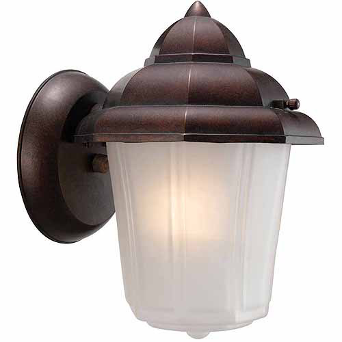 "Design House 511501 Maple Street Outdoor Downlight, 6"" x 8.75"", Washed Copper Die-Cast Aluminum Finish"