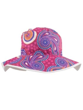 BHRDL Baby Reversible Hat, Dandaloo Pink