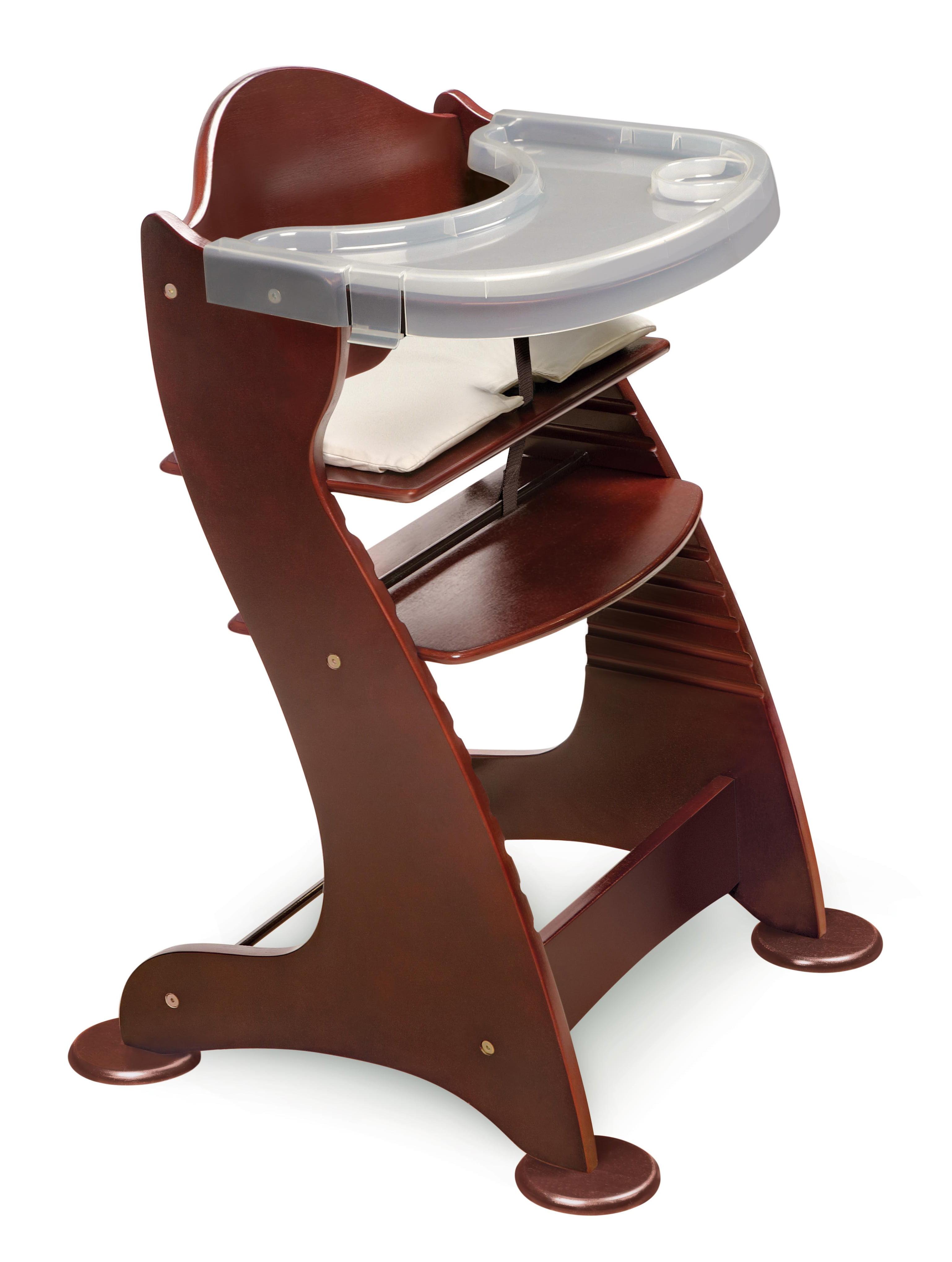 Badger Basket Wooden High Chair, Cherry by Badger Basket