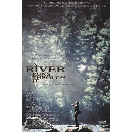 A River Runs Through It (1992) 11x17 Movie Poster ()