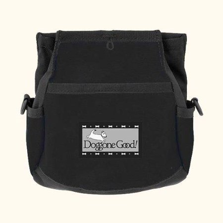 Rapid Rewards Deluxe Dog Training Bag with Belt by (Black) ()