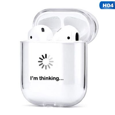 Kaboer Funny Fashion Apple Airpods1 2 Generation Wireless Bluetooth Headset Set Transparent Hard Shell Pc Painted Shell Walmart Com Walmart Com