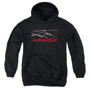 Airwolf Grid Big Boys Pullover Hoodie