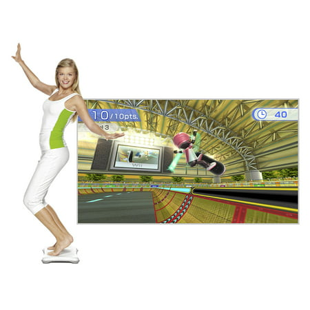 Wii Fit Plus with Balance Board (Open Box)