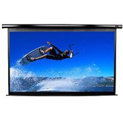 """Elite Screens VMAX2 Series VMAX84UWV2 - Projection screen - ceiling mountable, wall mountable - motorized - 84"""" (83.9 in) - 4:3 - MaxWhite - black"""