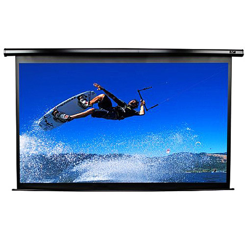 Elite Screens VMAX2 Series Matte White Motorized Electric...