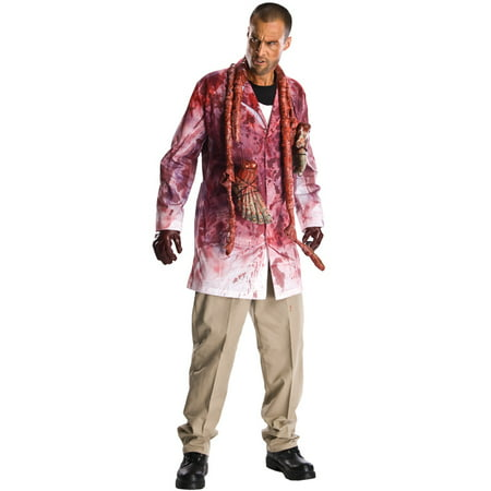 The Walking Dead Bloody Rick Grimes Adult Costume (Halloween And Scary Attractions Show)