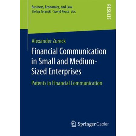 Financial Communication In Small And Medium Sized Enterprises  Patents In Financial Communication