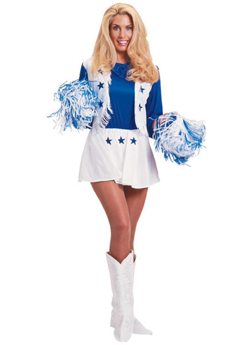 Adult Dallas Cowboys Cheerleader Costume Rubies 15683 by Rubies