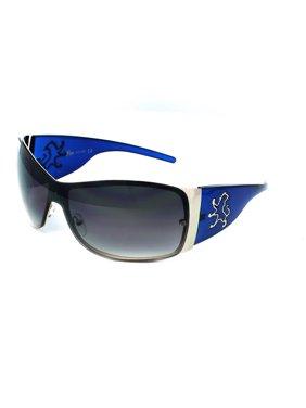 b74429c680e Product Image (3 Pack) KHAN Sunglasses Shield 1028 Blue