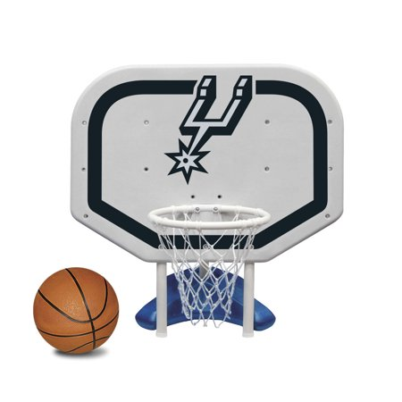 Poolmaster San Antonio Spurs NBA Pro Rebounder-Style Poolside Basketball Game](San Antonio Spurs Basketball)