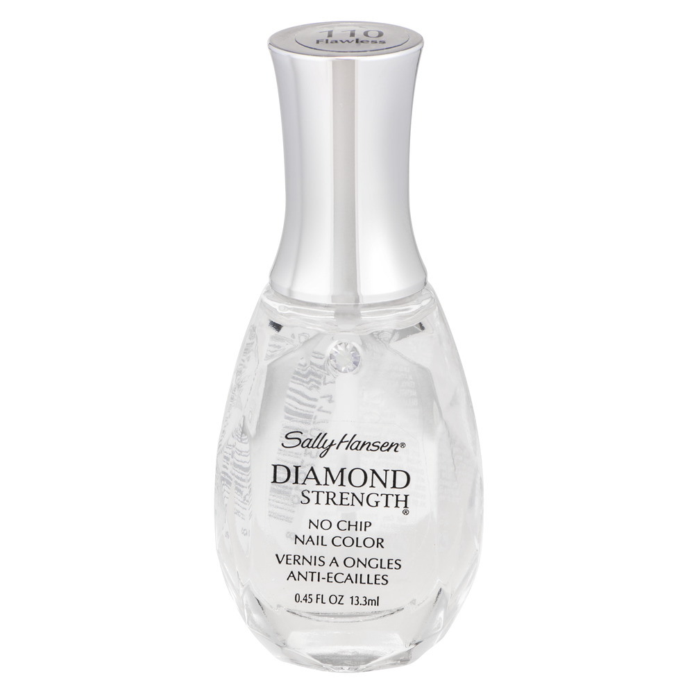Sally Hansen Diamond Strength No Chip Nail Color 110 Flawless, 0.45 ...