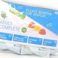 SmartyPants adulte complète Gummy Vitamins- multivitamines et oméga-3 DHA / EPA huile de poisson, de méthyle B12, la vitamine D3, 15 Day Supply, 10 Pack. Boîte ouverte