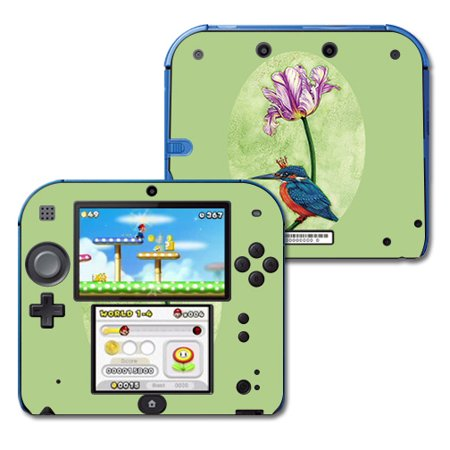 Skin For Nintendo 2DS - King Fisher | MightySkins Protective, Durable, and Unique Vinyl Decal wrap cover | Easy To Apply, Remove, and Change Styles ()