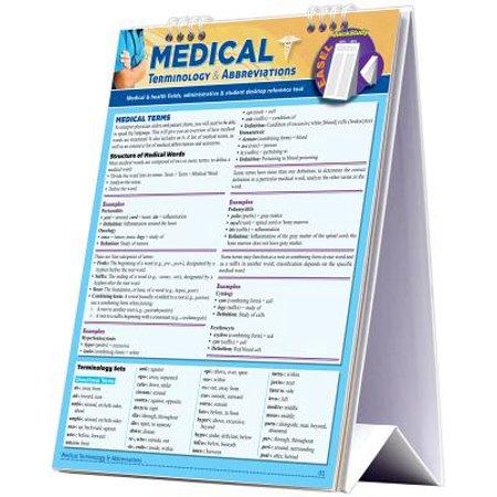 Medical Terminology & Abbreviations Desktop Easel (Top 5 Medical Schools In The World)