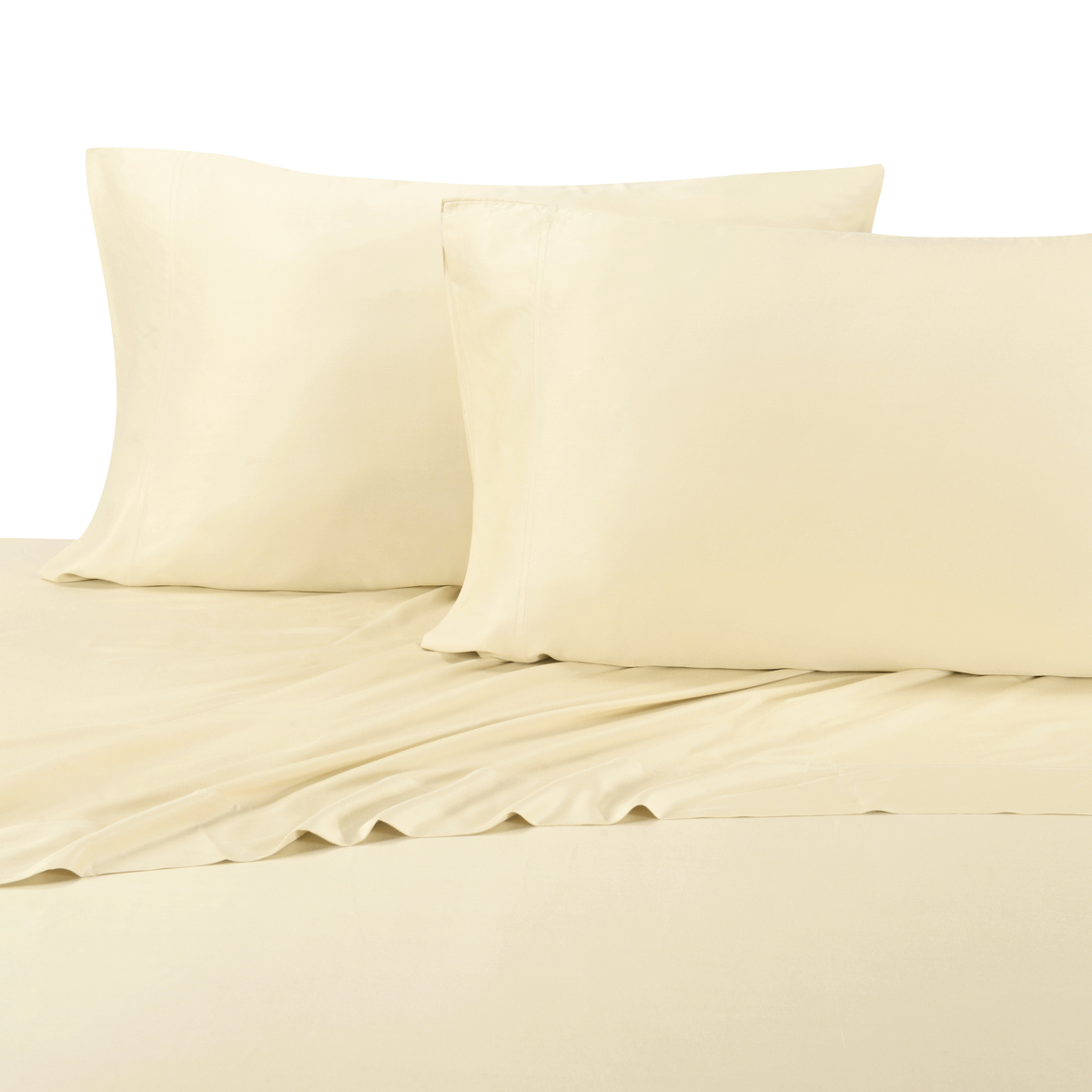Luxury Bamboo Bed Sheet Super Soft U0026 Extremely Cool 100% Bamboo Viscose  Sheets Deep Pocket Sheet   Walmart.com