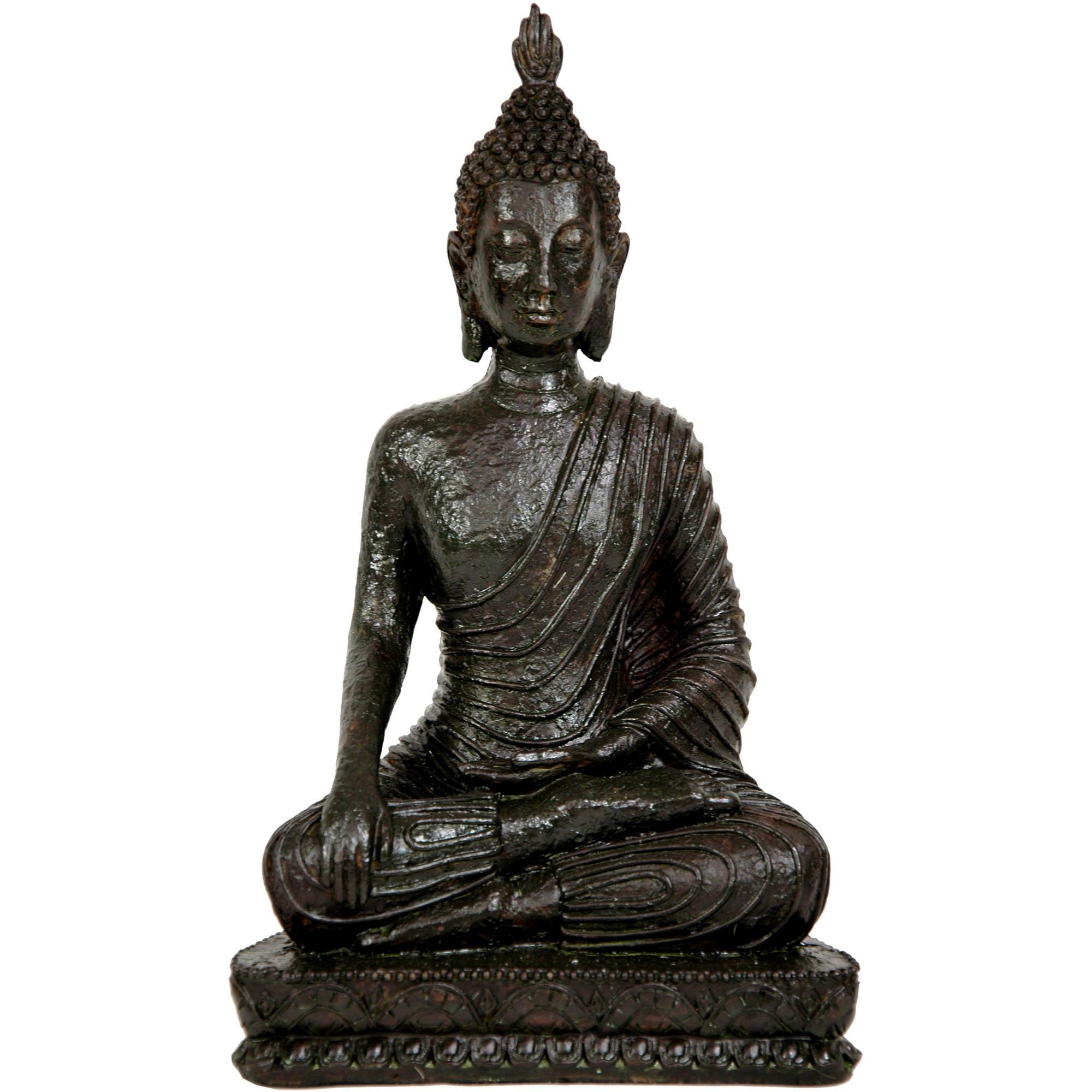 """10"""" Laotian Sitting Buddha Statue"""