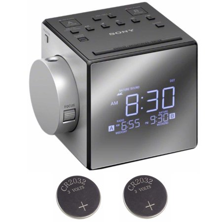 Sony Alarm Clock Radio with Time Projection