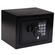 HomCom 9 x 7 x 7 in. Steel Electronic Digital Home Security Safe