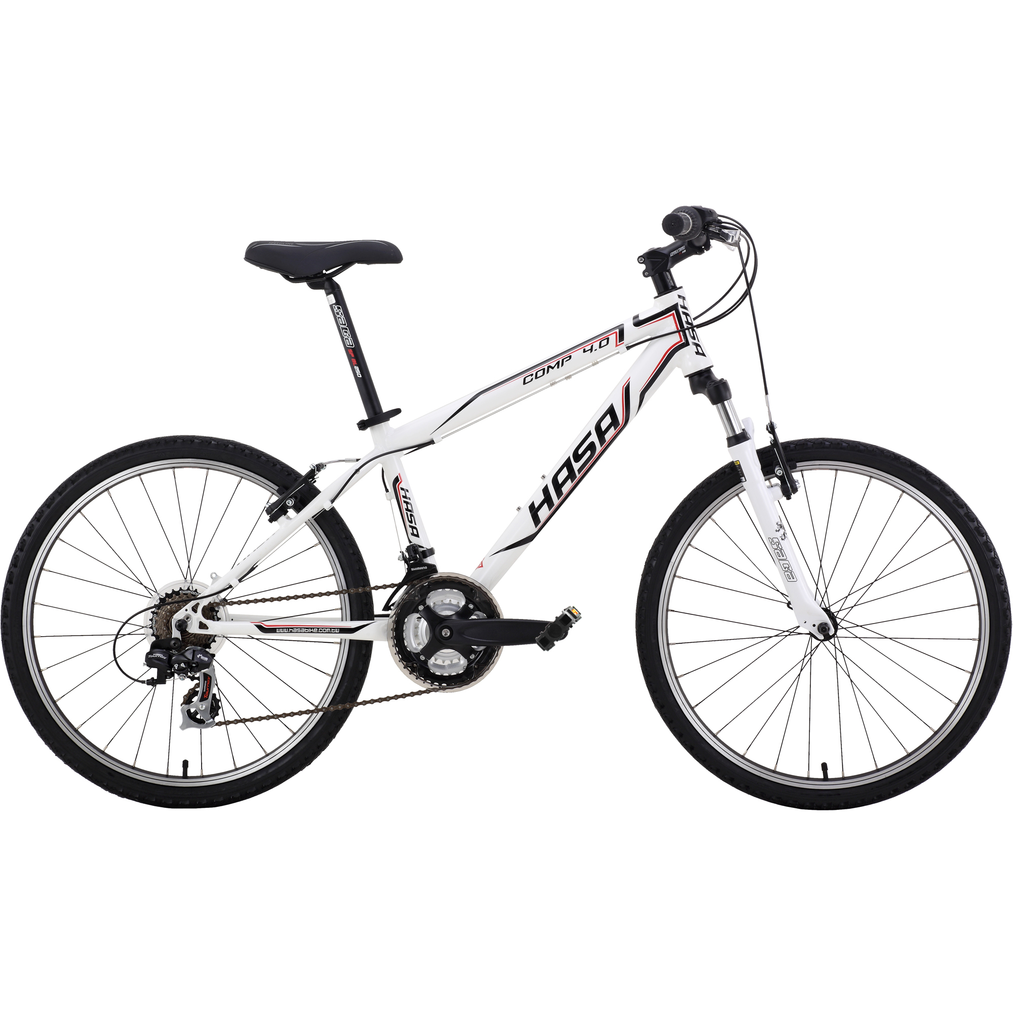 HASA Kids Mountain Bike Shimano 21 Speed 24 inch Alloy by HASA