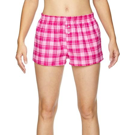 Juniors' Flannel Short