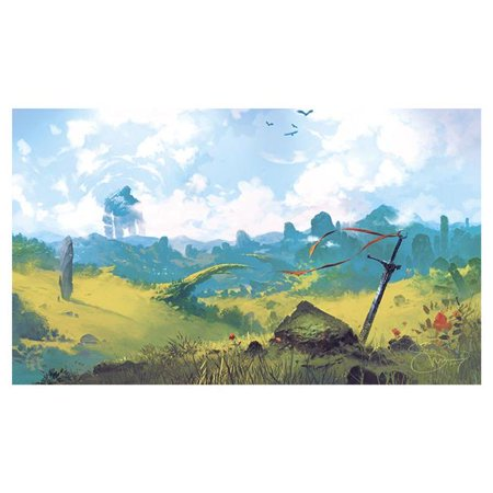 Legion Supplies LGNPLM141 Play Mat Lands Plains Card Accessories - image 1 of 1