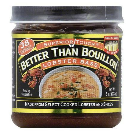 Better Than Bouillon Lobster Base, 8 OZ (Pack of (Lobster Base)