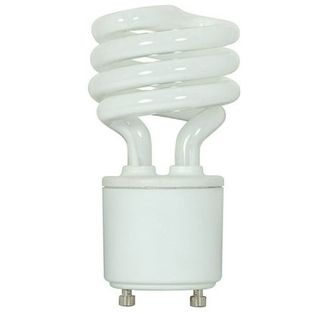 Compact Fluorescent Lighting (Ushio Compact Fluorescent 13W Mini Twist GU24 cool white light bulb)