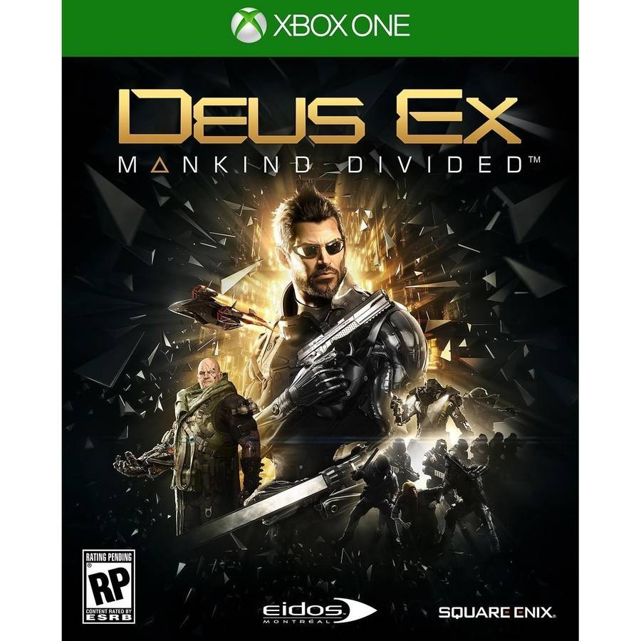 Deus Ex Mankind Launch Edition - Pre-Owned (Xbox One) Square Enix