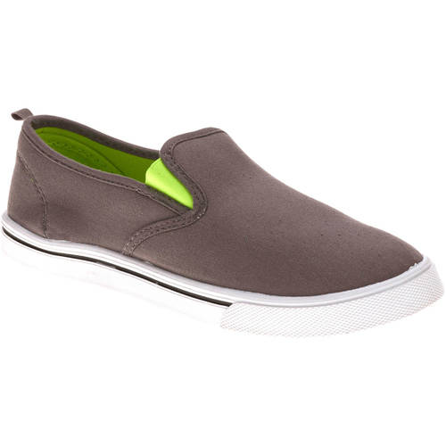 Faded Glory Boy's Casual Canvas Slip-on Shoe by