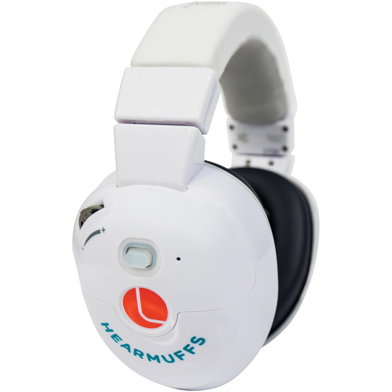 Lucid Audio LA-INFANT-ASM-WH HearMuffs Sounds for Infants