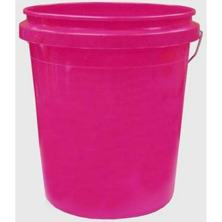 Encore Plastics Pail, Pink, 5 Gallon